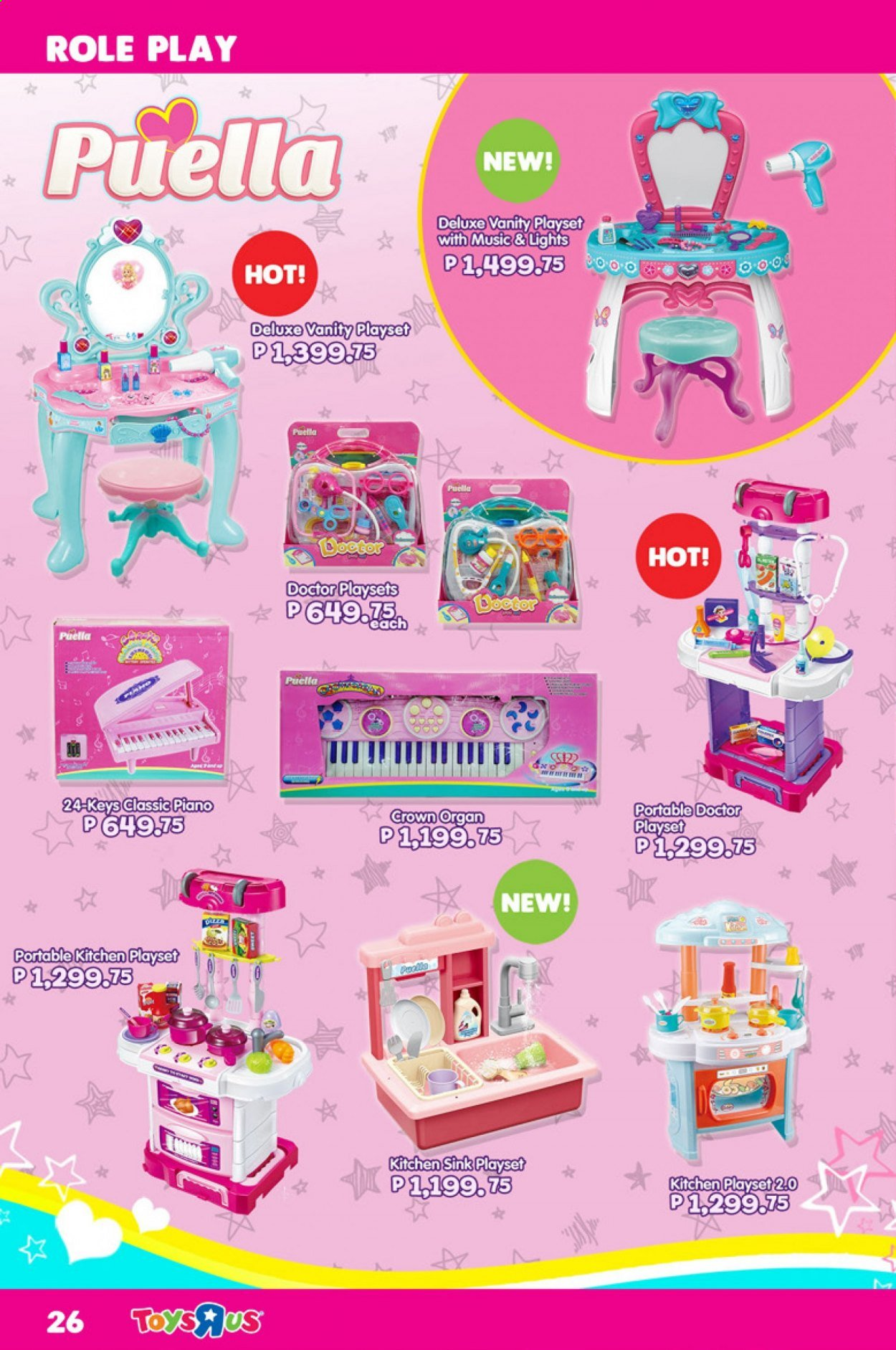"Toys""R""Us offer  - 1.9.2020 - 30.9.2020 - Sales products - play set. Page 26."