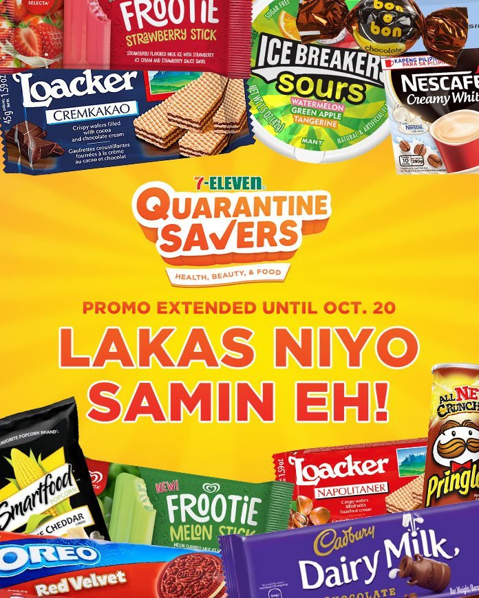 7 Eleven offer  - 19.9.2020 - 20.10.2020 - Sales products - Oreo, Cadbury, Dairy Milk, popcorn, Nescafé. Page 1.
