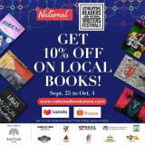 National Book Store offer  - 25.9.2020 - 4.10.2020.