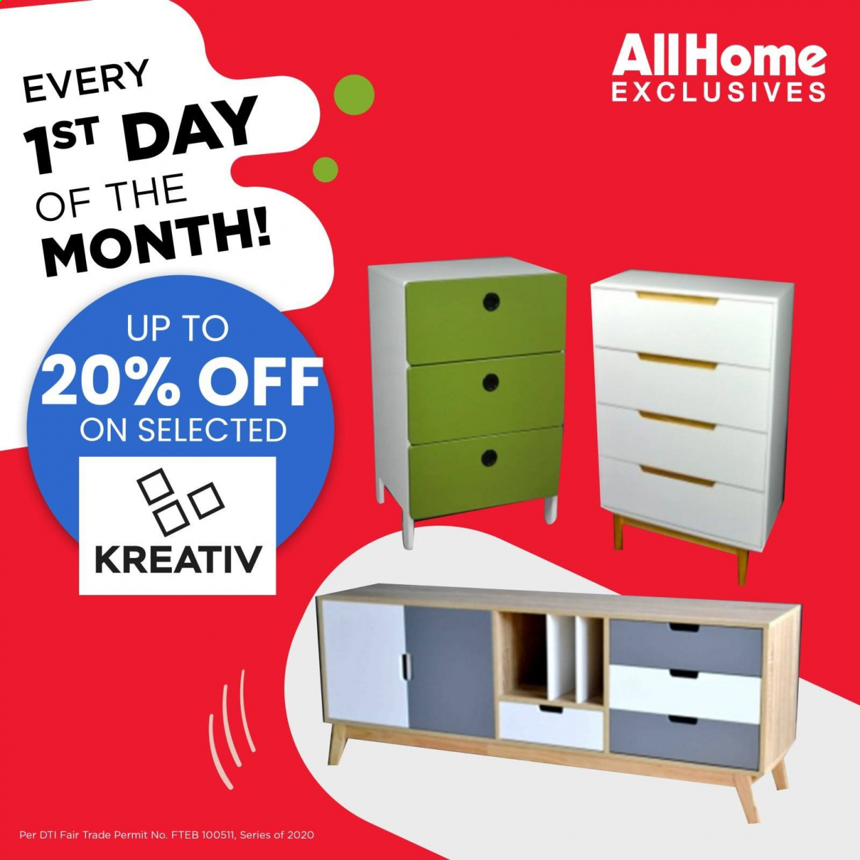 AllHome offer  - 1.10.2020 - 1.10.2020. Page 1.