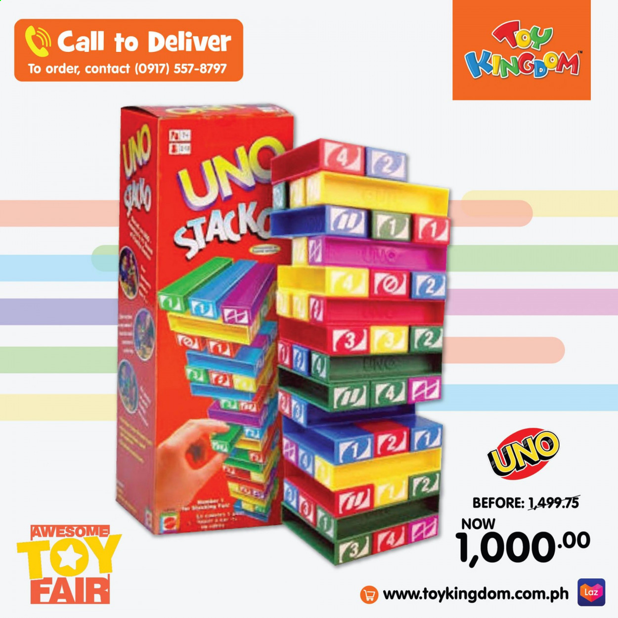 Toy Kingdom offer  - Sales products - toys. Page 4.