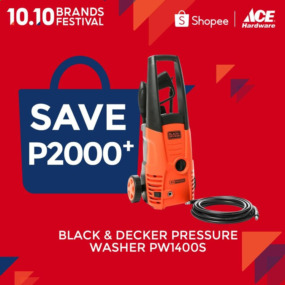ACE Hardware offer  - 10.10.2020 - 10.10.2020 - Sales products - pressure washer. Page 2.