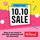 National Book Store offer  - 10.10.2020 - 10.10.2020.