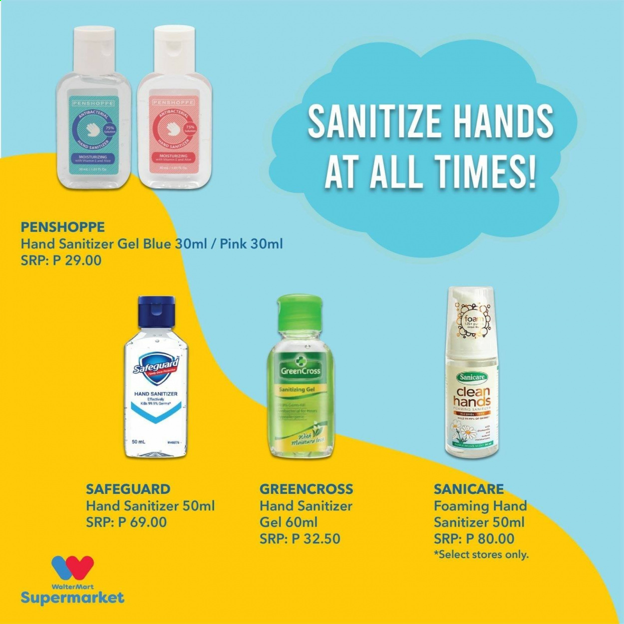 Walter Mart offer  - 15.10.2020 - 15.10.2020 - Sales products - aloe, hand sanitizer. Page 2.
