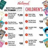 National Book Store offer  - 15.10.2020 - 31.10.2020.