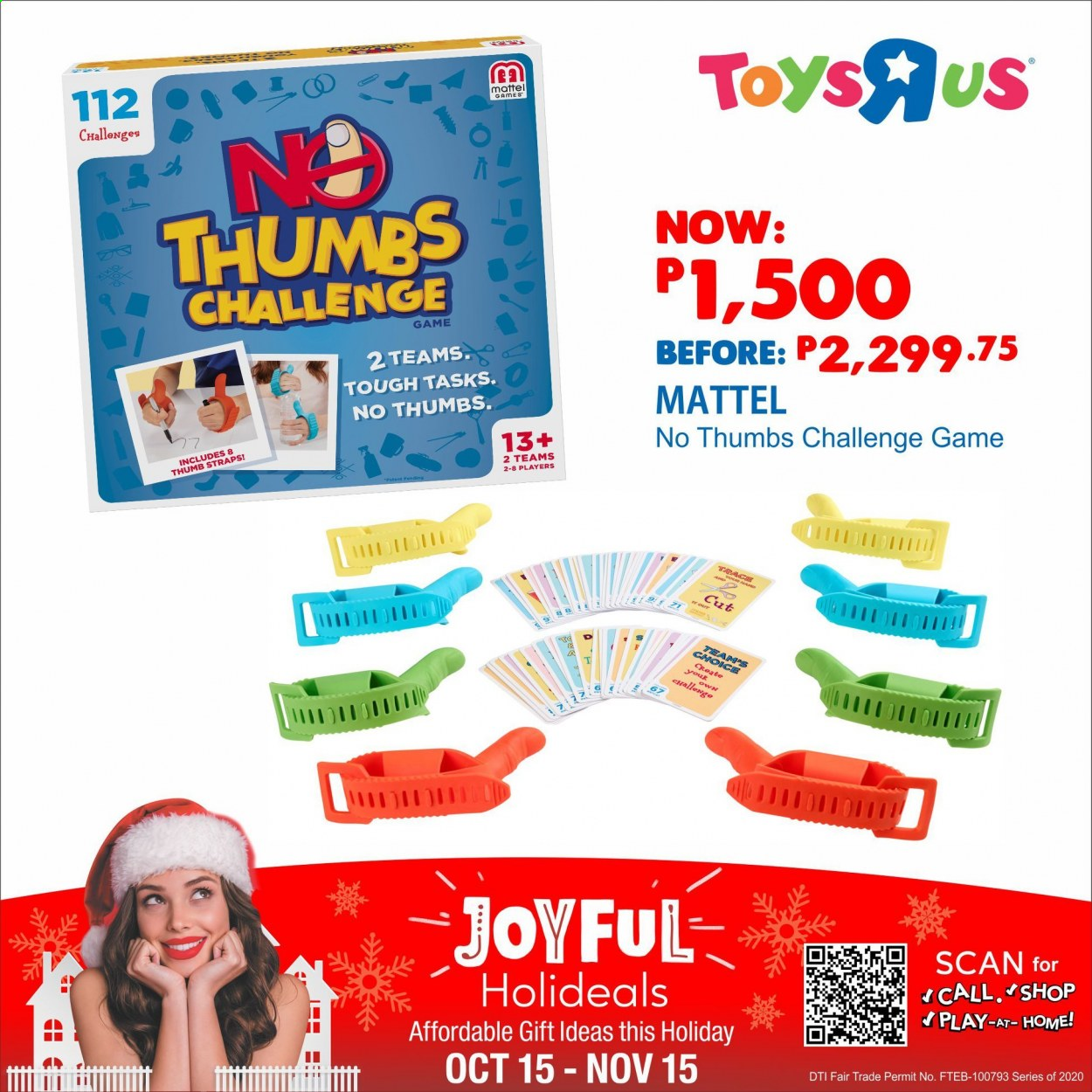 "Toys""R""Us offer  - 15.10.2020 - 15.11.2020 - Sales products - Mattel. Page 2."