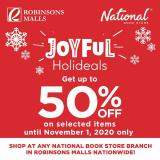 National Book Store offer  - 28.10.2020 - 1.11.2020.