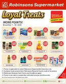 Robinsons Supermarket offer  - 1.11.2020 - 30.11.2020.