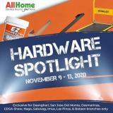 AllHome offer  - 9.11.2020 - 13.11.2020.