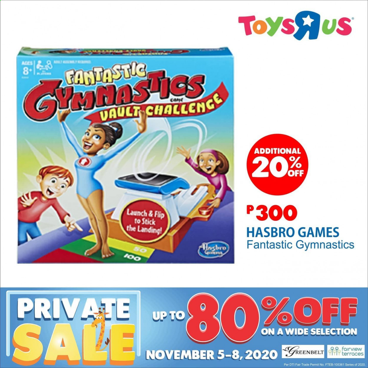 "Toys""R""Us offer  - 5.11.2020 - 8.11.2020 - Sales products - hasbro. Page 3."