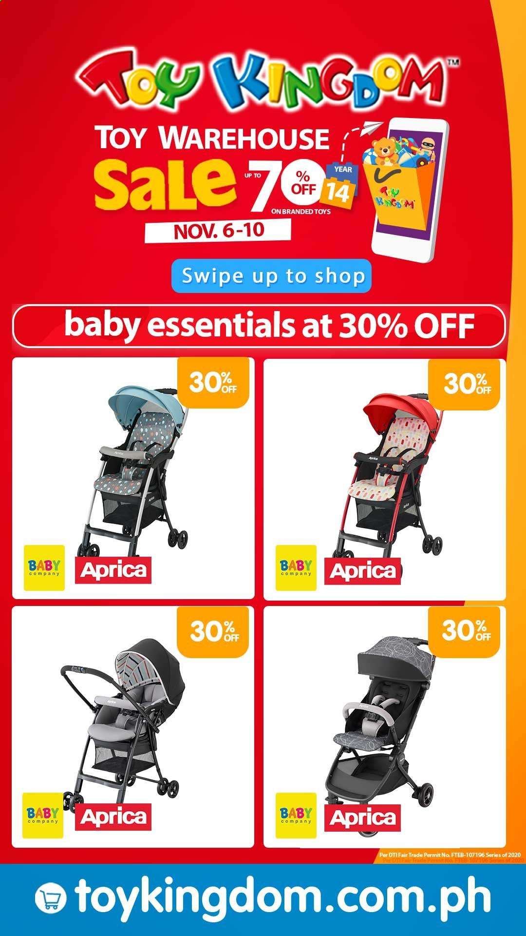 Toy Kingdom offer  - 6.11.2020 - 10.11.2020 - Sales products - bag, toys. Page 7.
