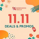 Robinsons Malls offer  - 11.11.2020 - 11.11.2020.