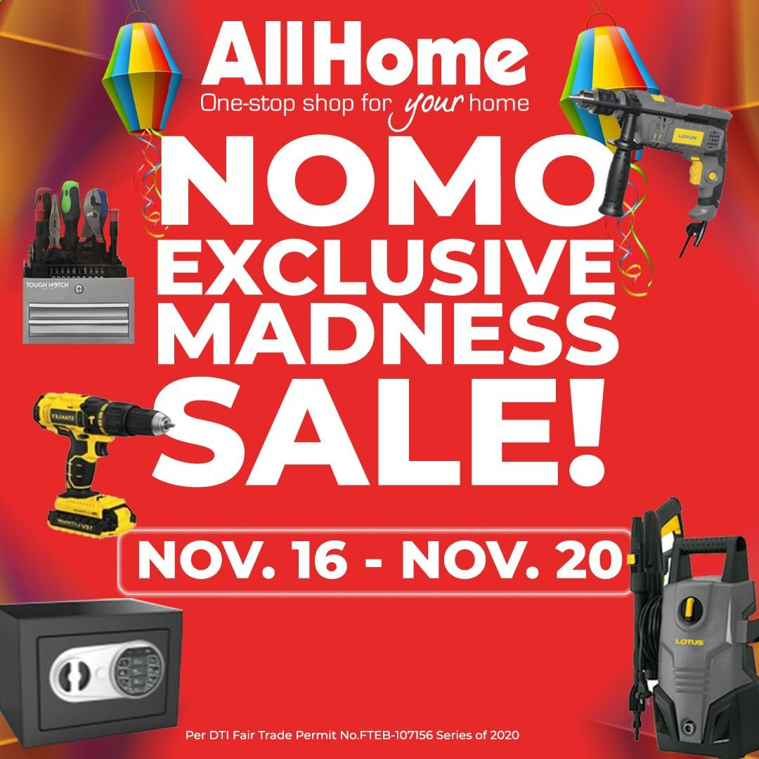 AllHome offer  - 16.11.2020 - 20.11.2020. Page 1.