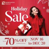Robinsons Malls offer  - 16.11.2020 - 20.12.2020.
