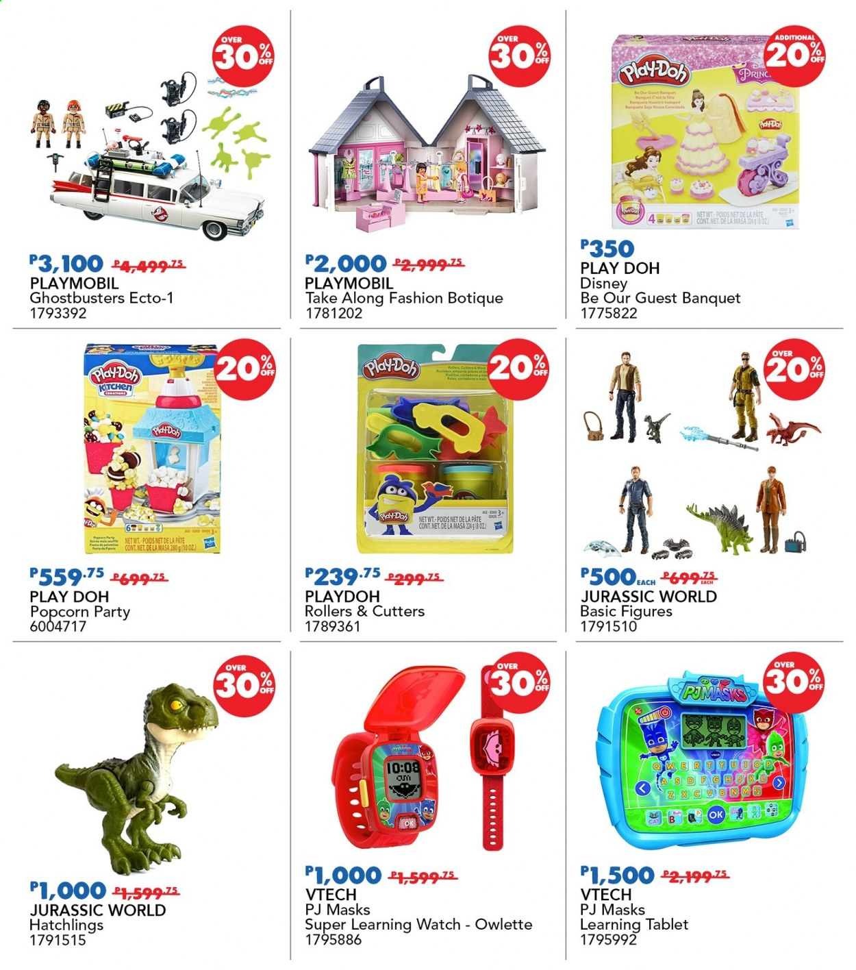 "Toys""R""Us offer  - 19.11.2020 - 22.11.2020 - Sales products - Disney, vtech, Playmobil. Page 4."