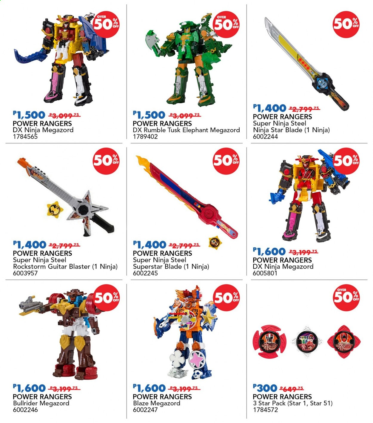 "Toys""R""Us offer  - 19.11.2020 - 22.11.2020 - Sales products - Power Rangers, guitar, blaze. Page 34."