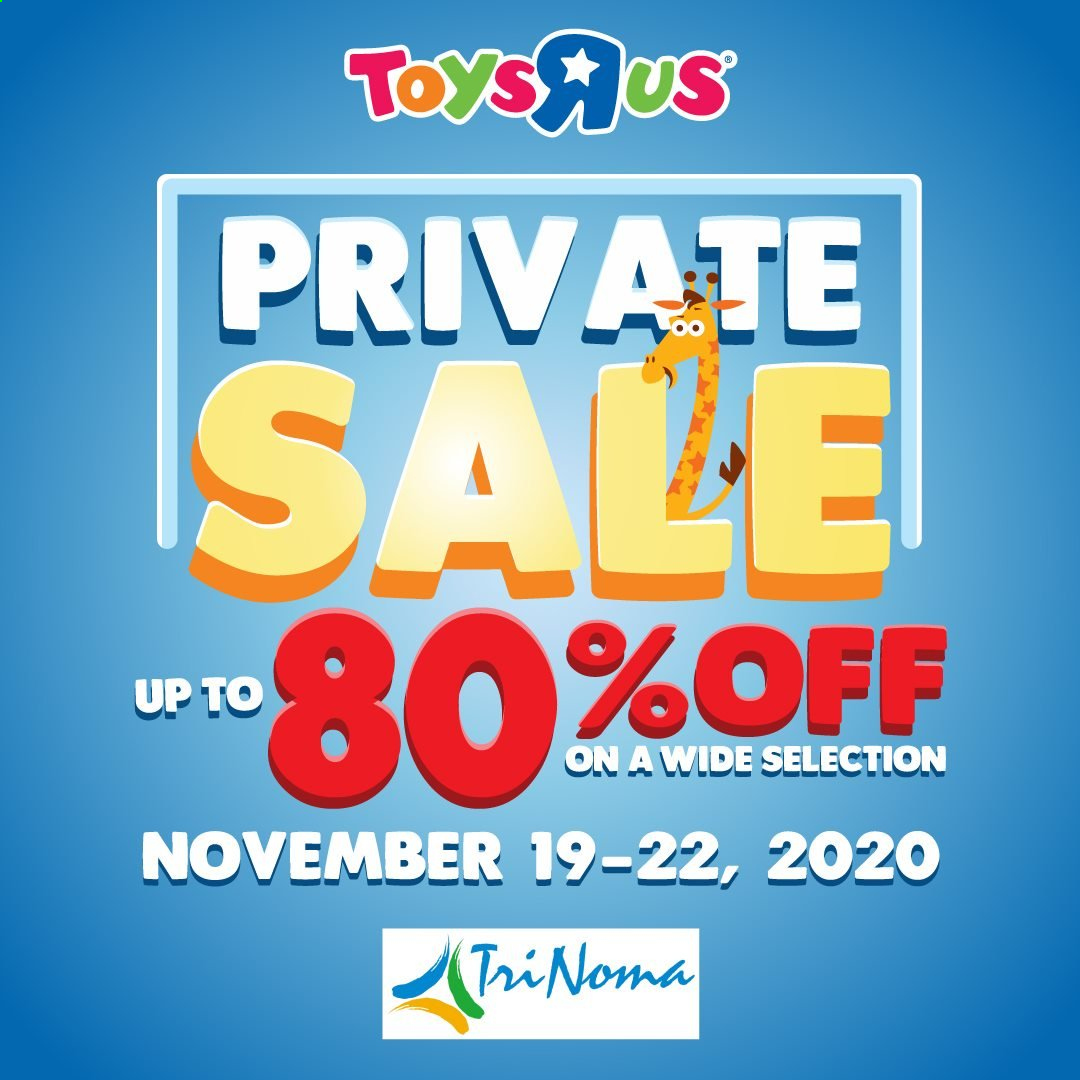 "Toys""R""Us offer  - 19.11.2020 - 20.11.2020. Page 1."