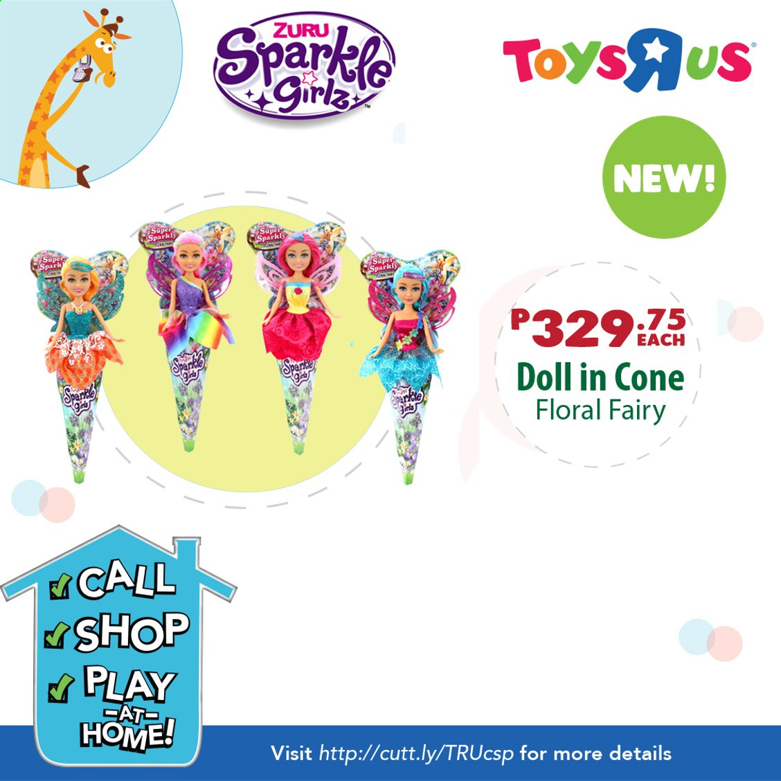 "Toys""R""Us offer  - Sales products - doll, Zuru. Page 1."