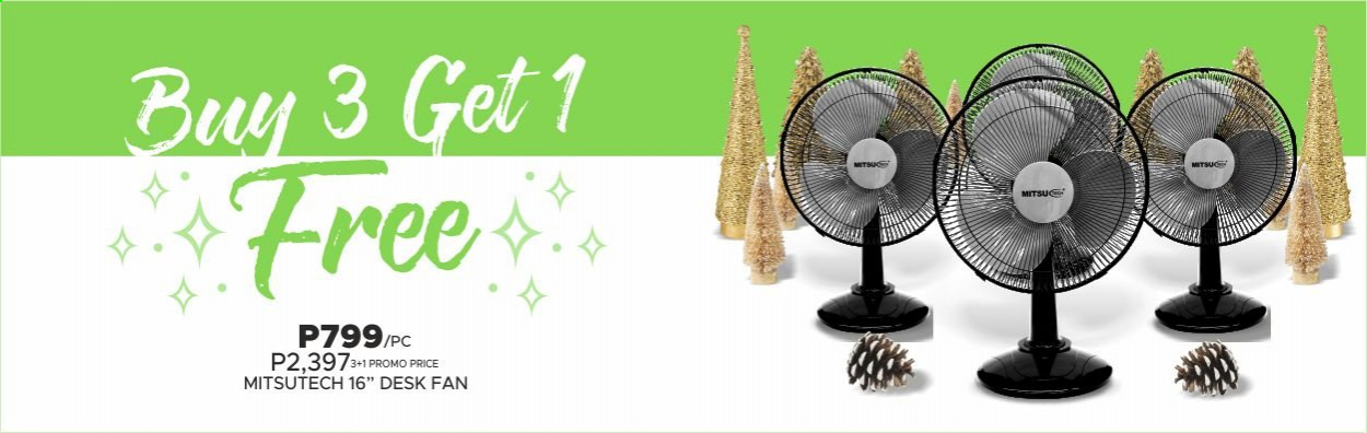 SM MARKETS offer  - 20.11.2020 - 31.12.2020 - Sales products - fan. Page 11.