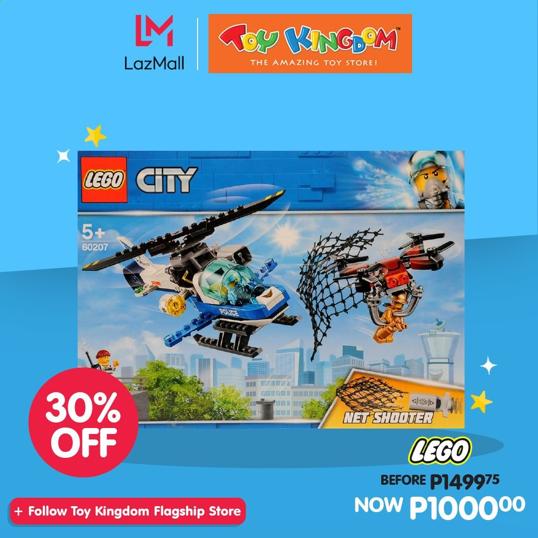 Toy Kingdom offer  - Sales products - LEGO, LEGO City, toys. Page 13.