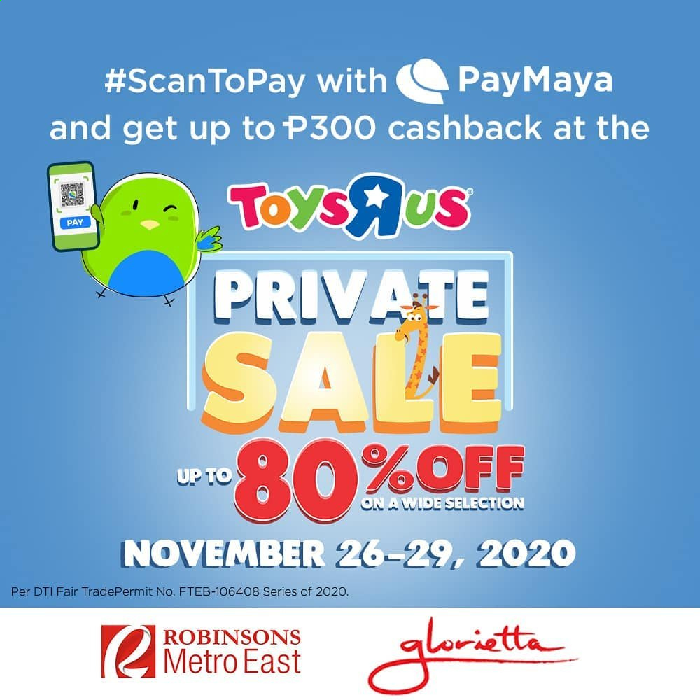 "Toys""R""Us offer  - 26.11.2020 - 29.11.2020. Page 1."