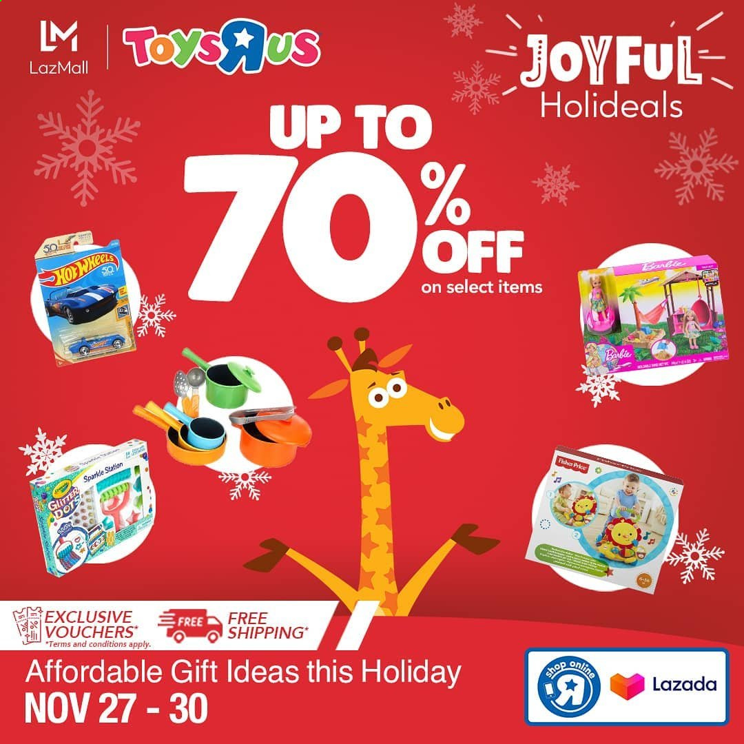 "Toys""R""Us offer  - 27.11.2020 - 30.11.2020 - Sales products - Barbie. Page 2."