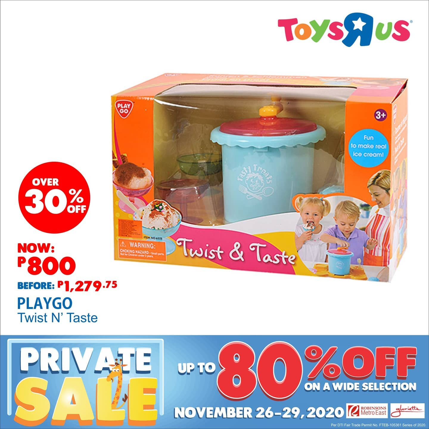"Toys""R""Us offer  - 26.11.2020 - 29.11.2020. Page 3."