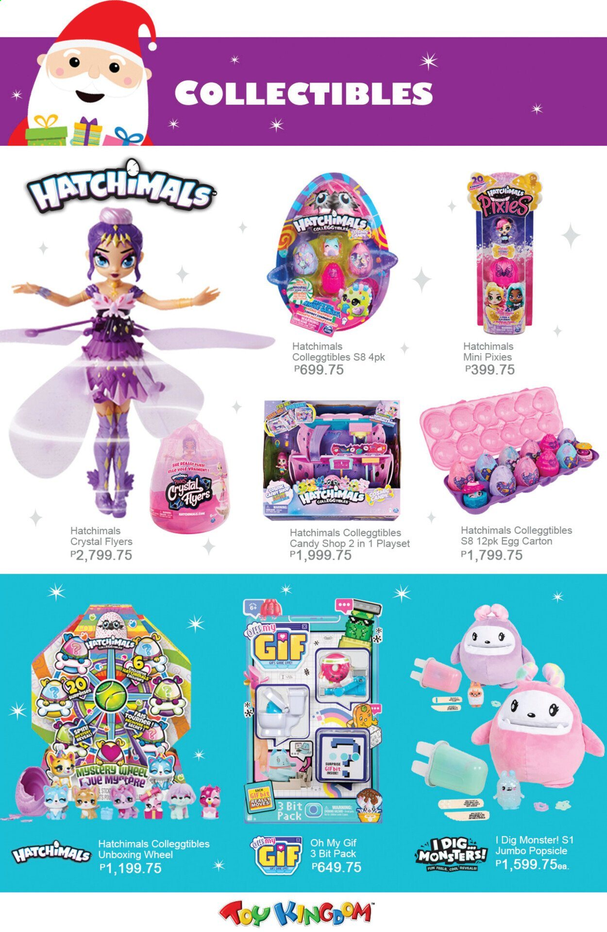 Toy Kingdom offer  - Sales products - play set, Hatchimals. Page 40.