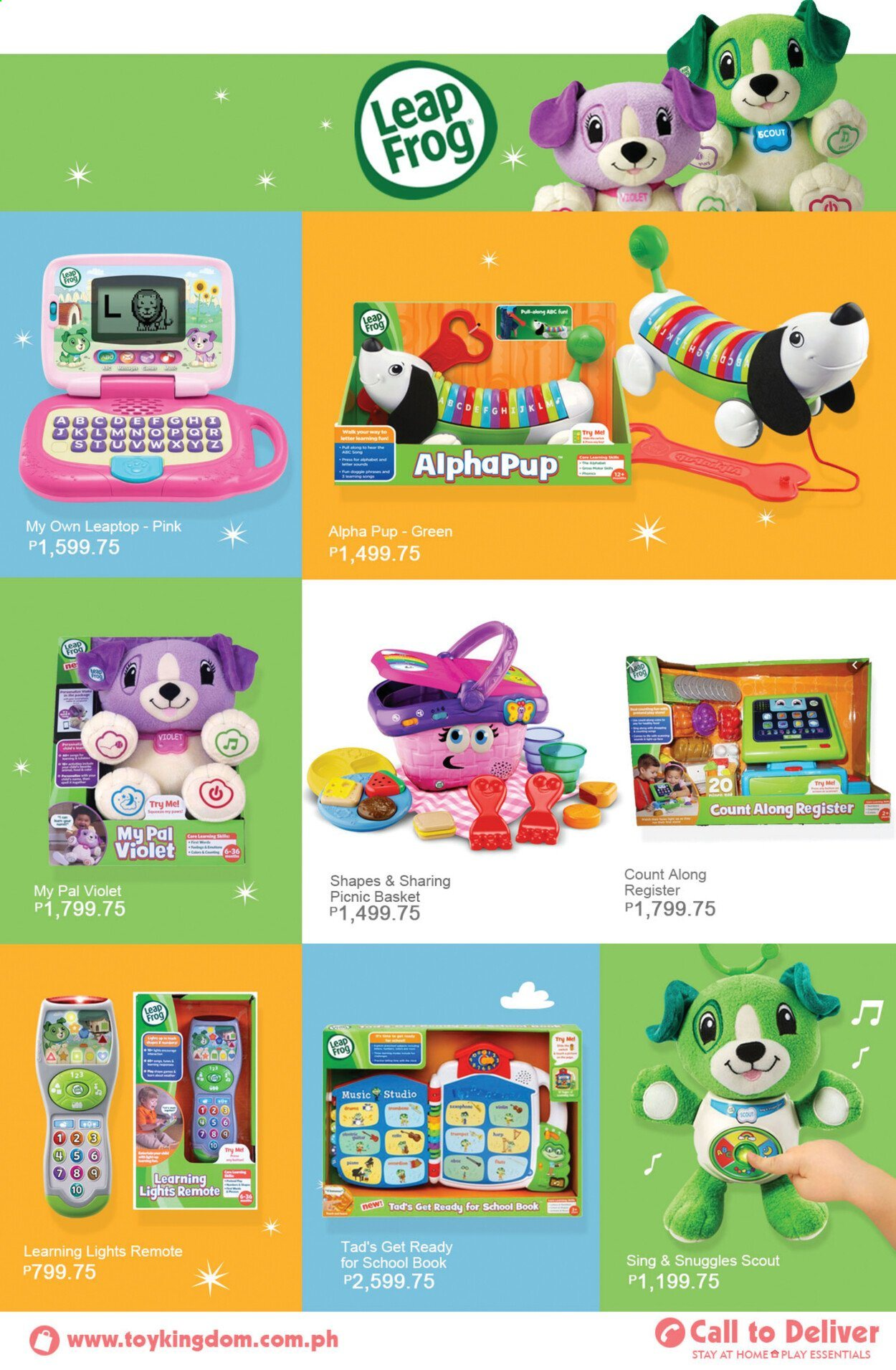 Toy Kingdom offer  - Sales products - book. Page 47.