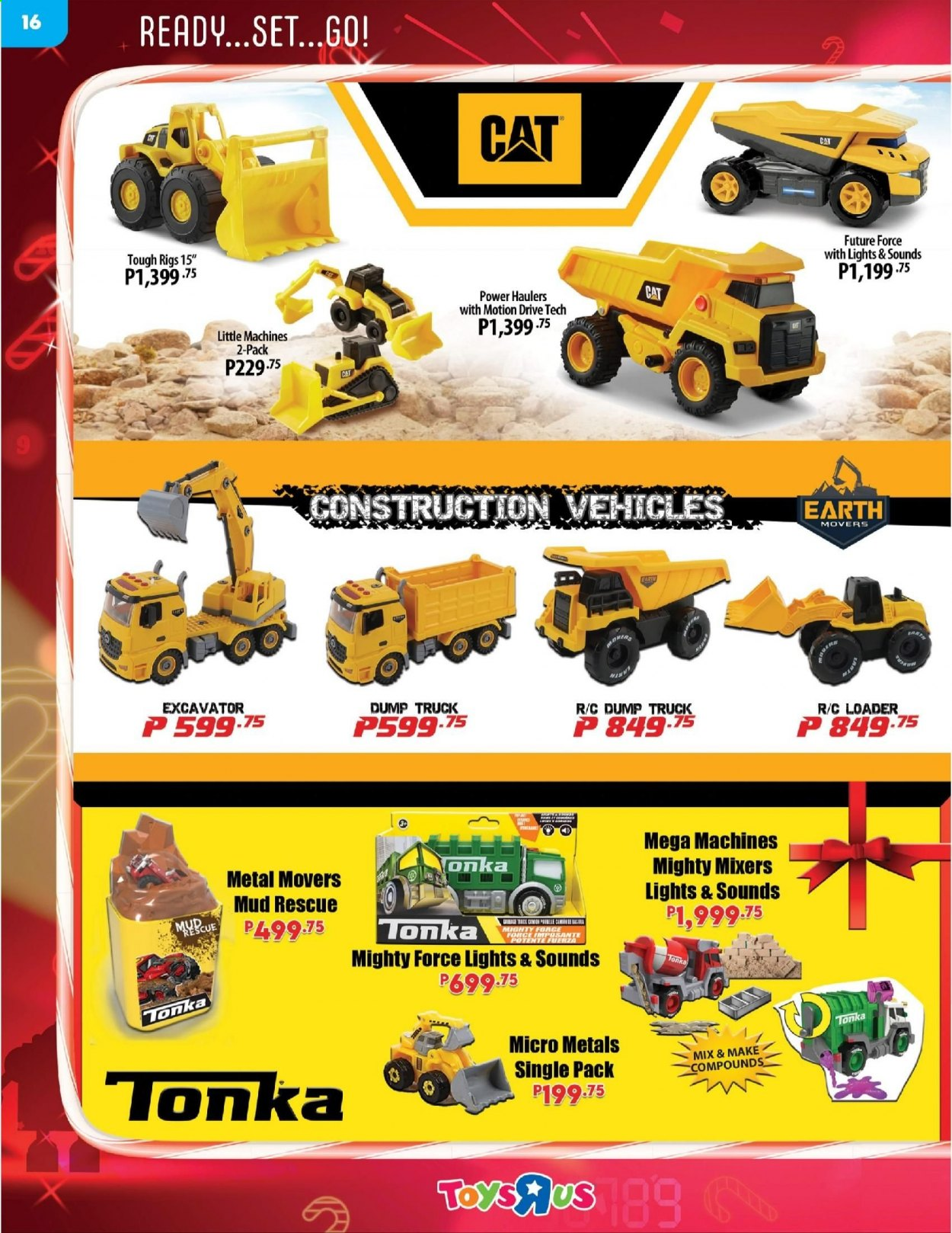 "Toys""R""Us offer  - 10.12.2020 - 31.12.2020 - Sales products - truck. Page 16."