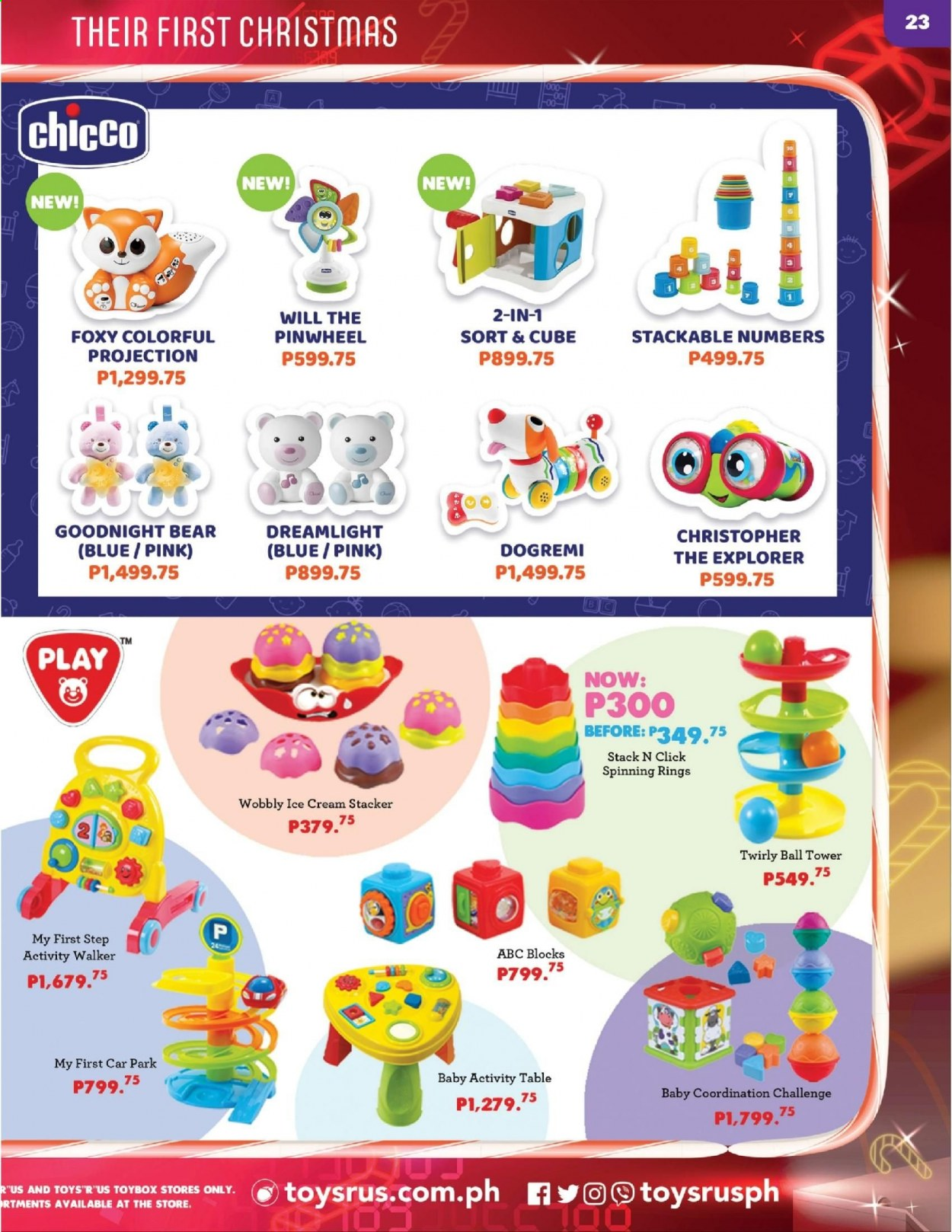 "Toys""R""Us offer  - 10.12.2020 - 31.12.2020 - Sales products - ball, toys. Page 23."