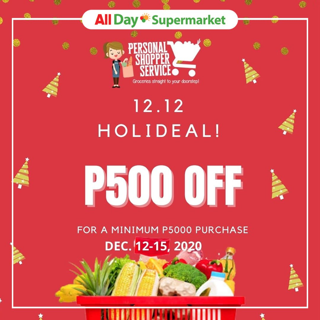 AllDay Supermarket offer  - 12.12.2020 - 12.12.2020. Page 1.
