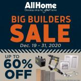 AllHome offer  - 19.12.2020 - 31.12.2020.