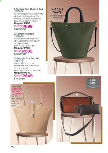 Avon offer  - 1.1.2021 - 31.1.2021 - Sales products - tote. Page 174.