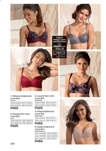 Avon offer  - 1.1.2021 - 31.1.2021 - Sales products - bra. Page 234.
