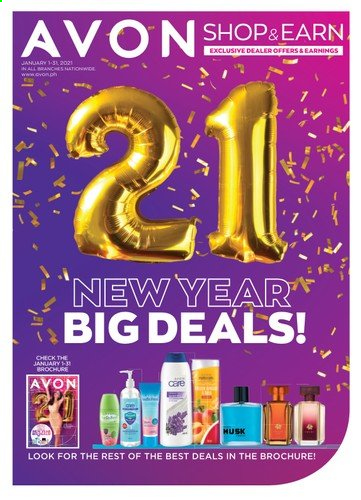 Avon offer  - Sales products - Avon. Page 1.