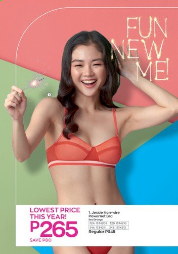 Avon offer  - 6.1.2021 - 31.1.2021 - Sales products - bra. Page 6.