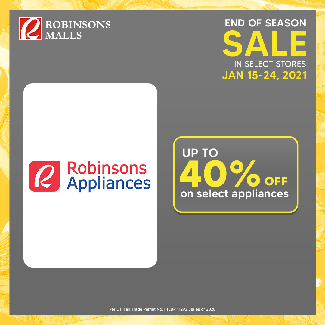 Robinsons Malls offer  - 15.1.2021 - 24.1.2021. Page 10.