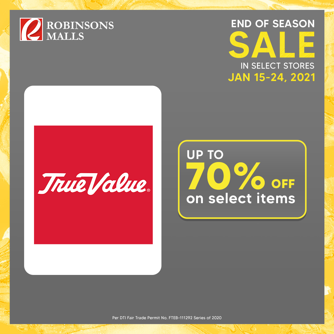 Robinsons Malls offer  - 15.1.2021 - 24.1.2021. Page 13.