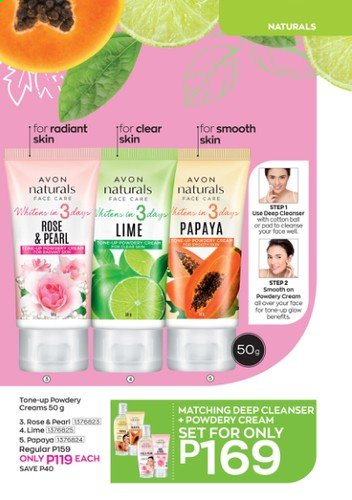 Avon offer  - Sales products - Avon, cleanser. Page 5.
