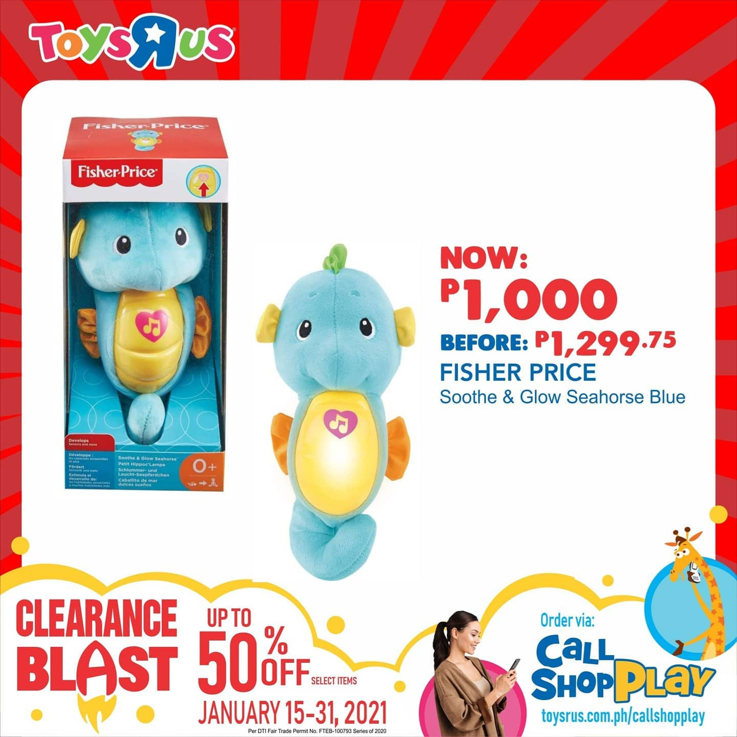 "Toys""R""Us offer  - 9.1.2021 - 31.1.2021. Page 13."