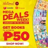 National Book Store offer  - 19.1.2021 - 24.1.2021.