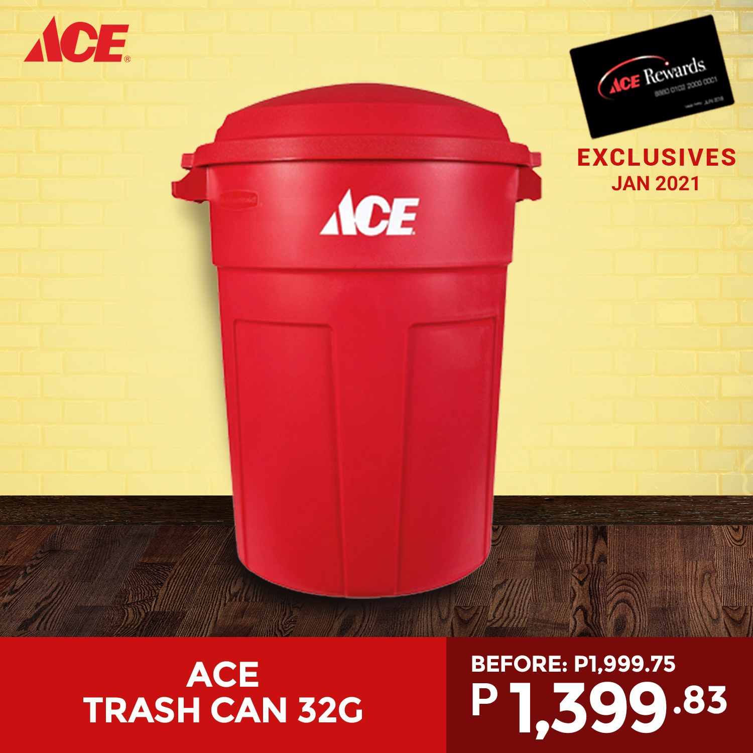 ACE Hardware offer  - 16.1.2021 - 24.1.2021. Page 1.