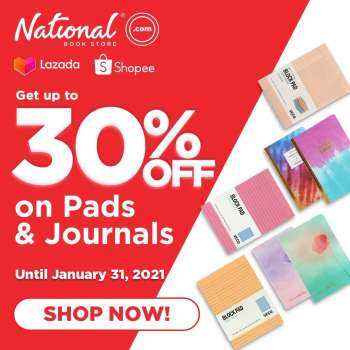 National Book Store offer  - 28.1.2021 - 31.1.2021.