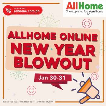 AllHome offer  - 30.1.2021 - 31.1.2021.