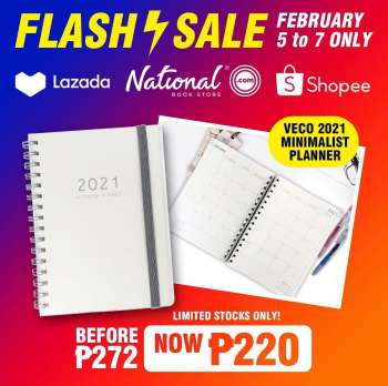 National Book Store offer  - 5.2.2021 - 7.2.2021.