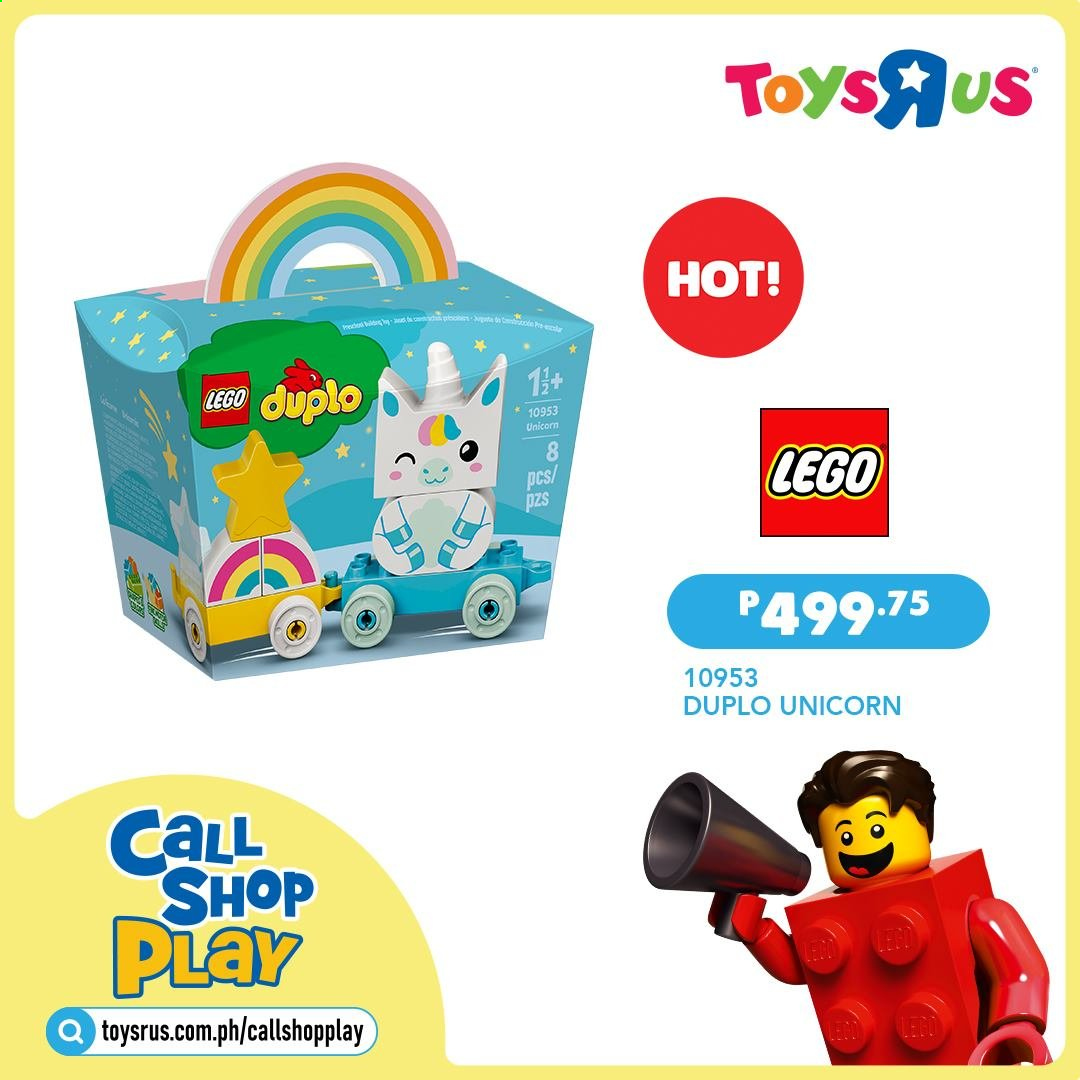 "Toys""R""Us offer  - Sales products - LEGO, LEGO Duplo. Page 18."