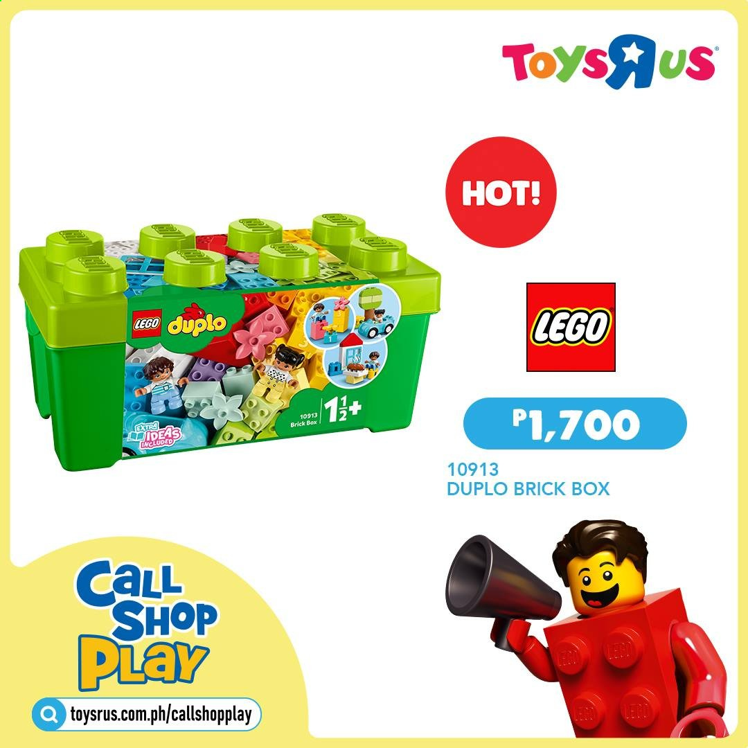 "Toys""R""Us offer  - Sales products - LEGO, LEGO Duplo. Page 19."