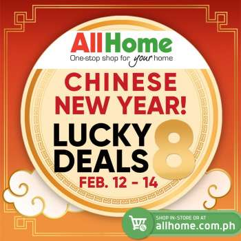 AllHome offer  - 12.2.2021 - 14.2.2021.