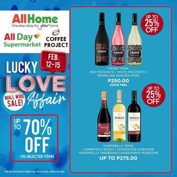 AllDay Supermarket offer  - 12.2.2021 - 15.2.2021.